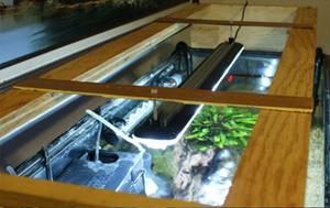 DIY LED Rack for Aquarium Top
