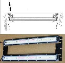 LED Strip Canopy Mounting